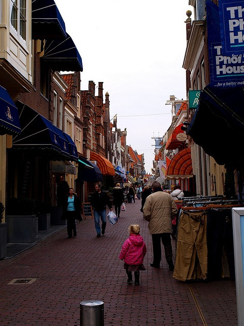 Shopping Street - Enkhuizen, Netherlands