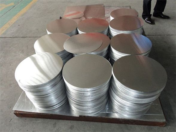 Hot Rolled Alloy 1050 1060 1100 3003 Aluminum Round Plate Sheet Circles Prices Aluminum Plates Manufacturing