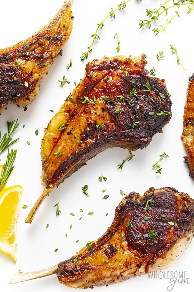 How To Cook Lamb Chops In The Oven Wholesome Yum In 2021 Lamb Chops Lamb Chops Oven Baked Lamb Chops