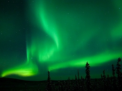 Northern Lights near Thunder Bay, Ontario