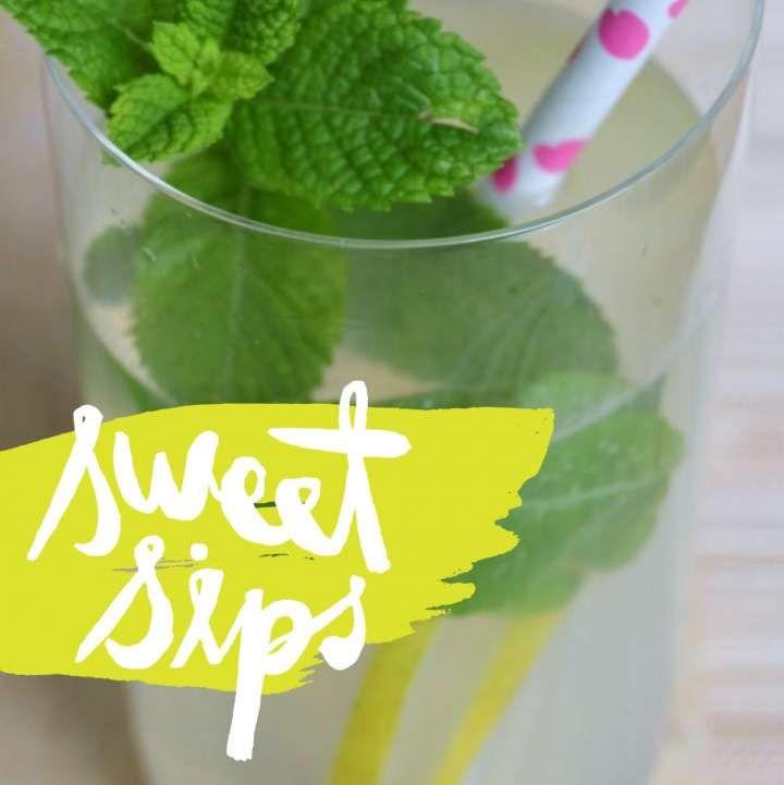 Limonata fatta in casa con la menta fresca - BabyGreen