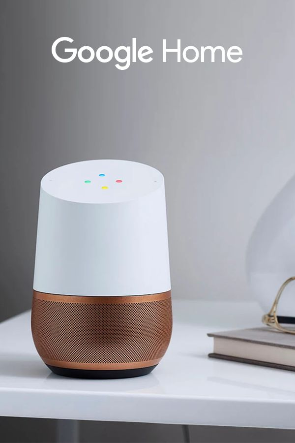 "Meet Google Home, the voice-activated speaker that fits your style. Choose from seven base colors to match the look of any room in your house. Ask Google Home questions and tell it to do things. It's your own Google, always ready to help. Just start with, ""Ok Google."""