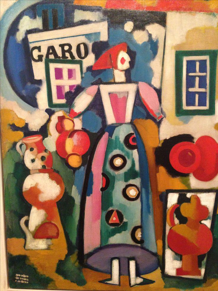 Amadeo de Souza Cardoso - representação da portuguesa com o respectiva roupa