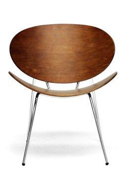 HauteLook | W.I. Modern Furniture: Reaves Mid Century Modern Accent Chairs    Walnut
