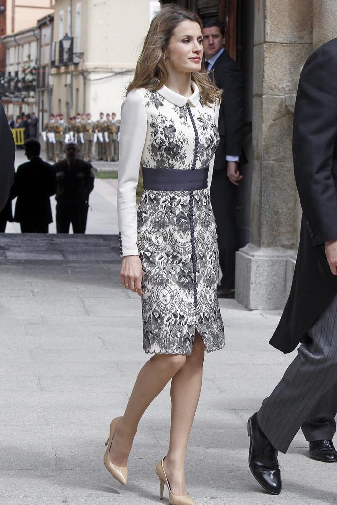 Letizia Ortiz en 2012