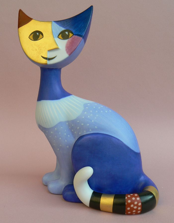 Petit chat de (little cat) by Austrian Artist  Rosina Wachtmeister