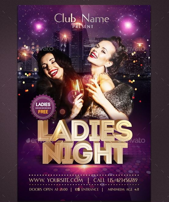 9 best EDM, House and Dubstep Night Club Flyer Templates for - club flyer background