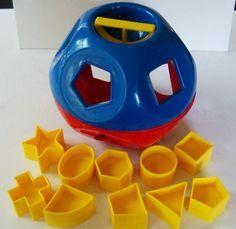 fisher price seventies toys - Shape Sorter