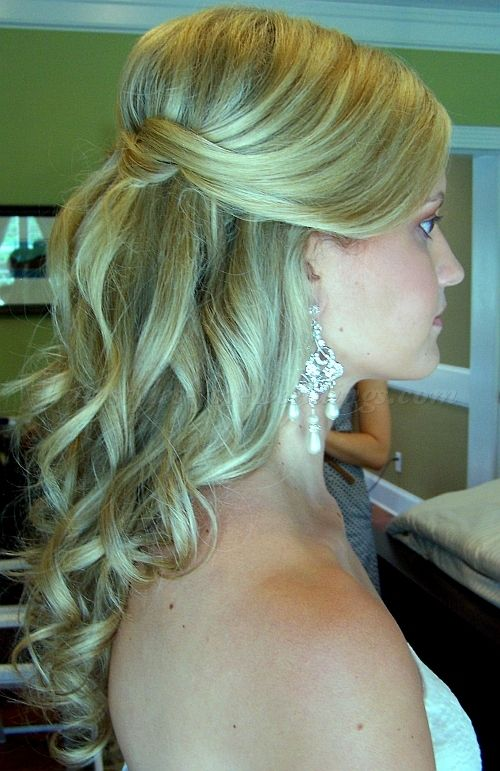 Half up half down wedding hairstyles are very popular to be chosen by brides to make their appearance looks awesome and very beautiful. Description from bengoldacre.net. I searched for this on bing.com/images