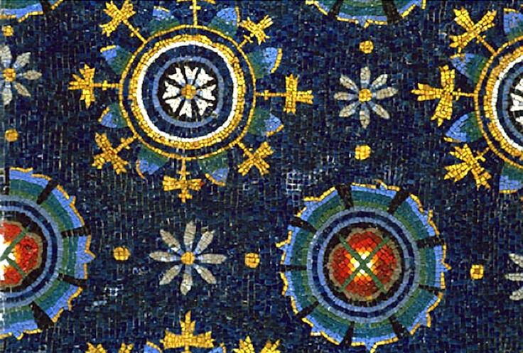 Mausoleo di Galla Placidia, Ravenna, Italy (386-452) detail