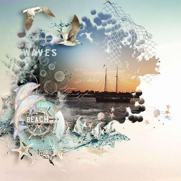 "Kit ""ocean dawn"" by Doudou's design"