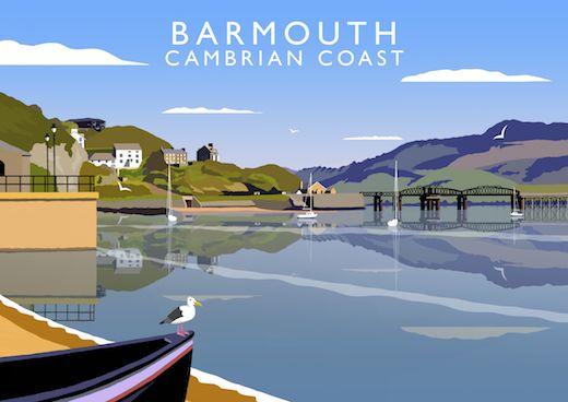 Barmouth, Cambrian Coast Art Print