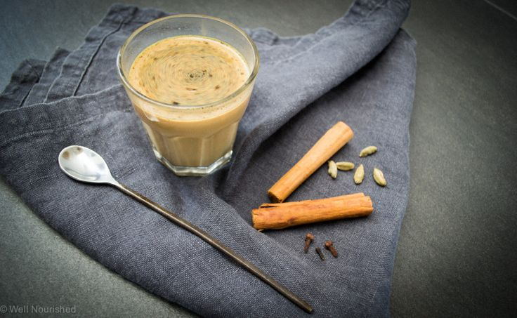 Immune Boosting Chai Tea Latte - learn about the health benefits of this delicious hot drink and I share my favourite, easy to make chai tea recipe to keep you well this winter.