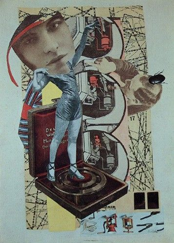 Hannah Höch. I still have my postcard of this image, bought at the Dada And Surrealism Reviewed exhibition, 1978.