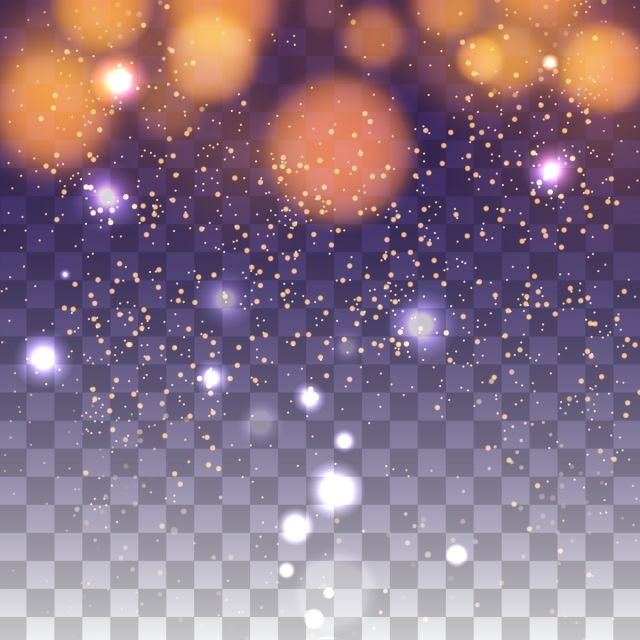 Abstract Light Bokeh Transparent Background Bokeh Background Png