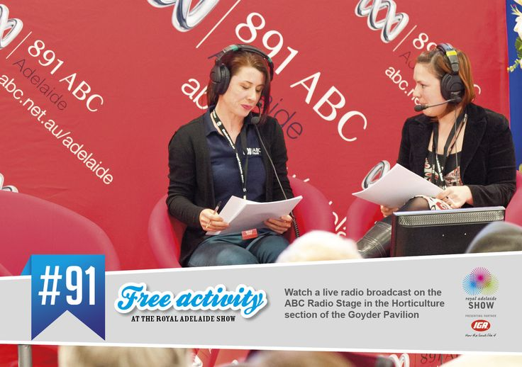 Watch a live radio broadcast! #AdelShow