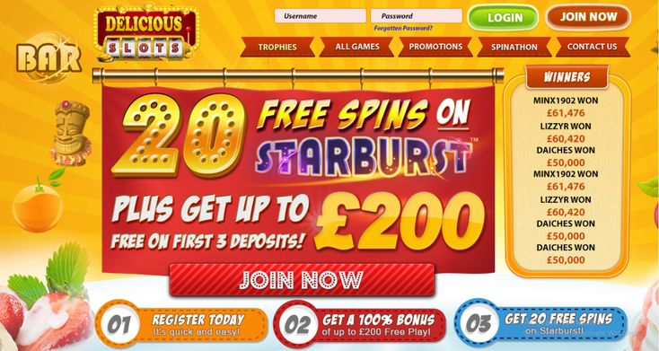 New Delicious Slots offer Win Up to 500 FREE spins on Starburst and fluffy favorites