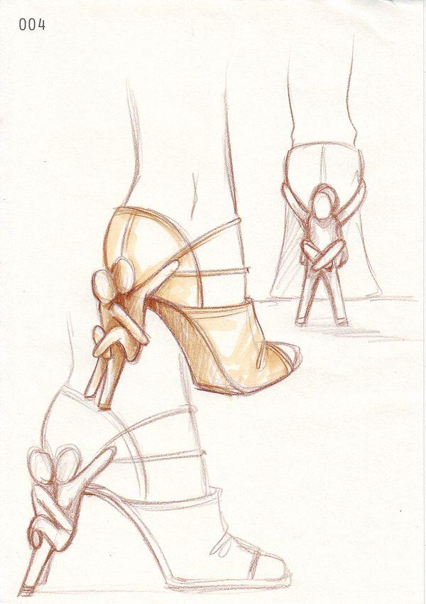 """ULTRABODY"" shoes concept by Angela Belardo, via Behance"