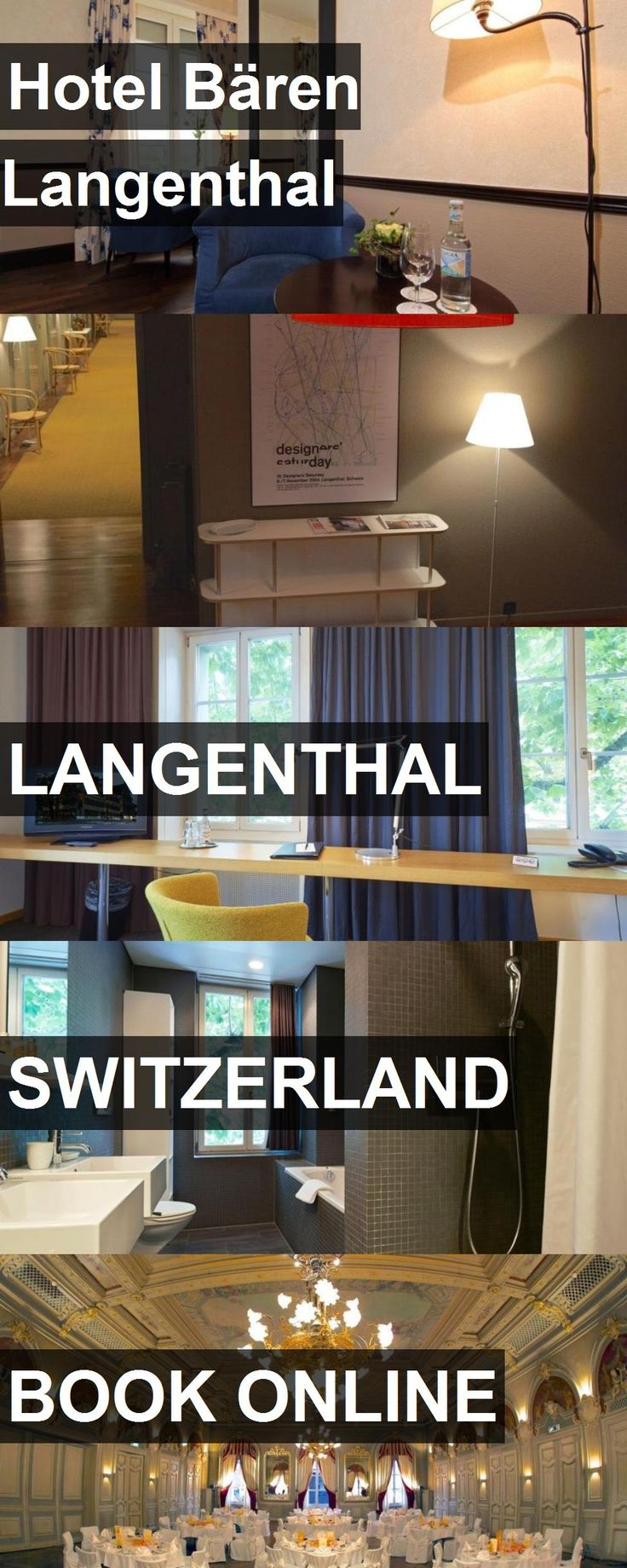 Hotel Bären Langenthal in Langenthal, Switzerland. For more information, photos, reviews and best prices please follow the link. #Switzerland #Langenthal #travel #vacation #hotel
