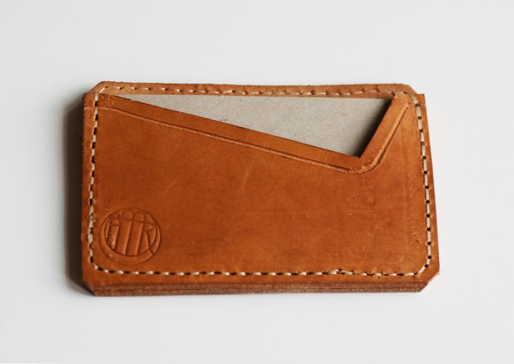 SKÓRZANY WIZYTOWNIK nr 2 - PMR-leathercraft - Etui na wizytówki