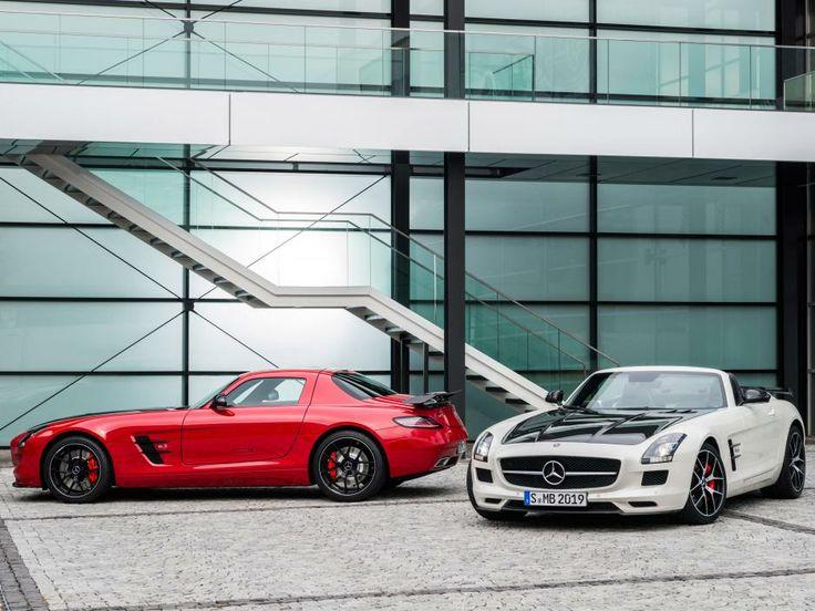 Mercedes-Ben SLS AMG GT Final Edition