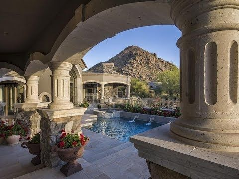 Exquisite Tuscan Inspired Custom Home in Scottsdale, Arizona