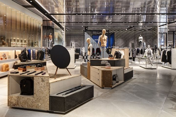 Harvey Nichols Store Lighting by PJC Light Studio, Birmingham – UK » Retail Design Blog