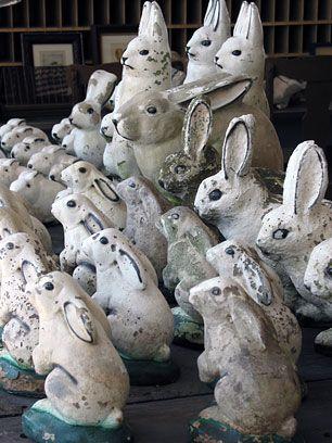 Rabbit doorstops