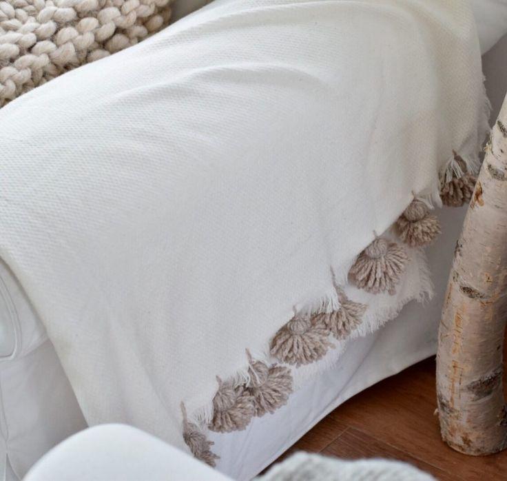 DIY deken versieren..! - draad en praat...
