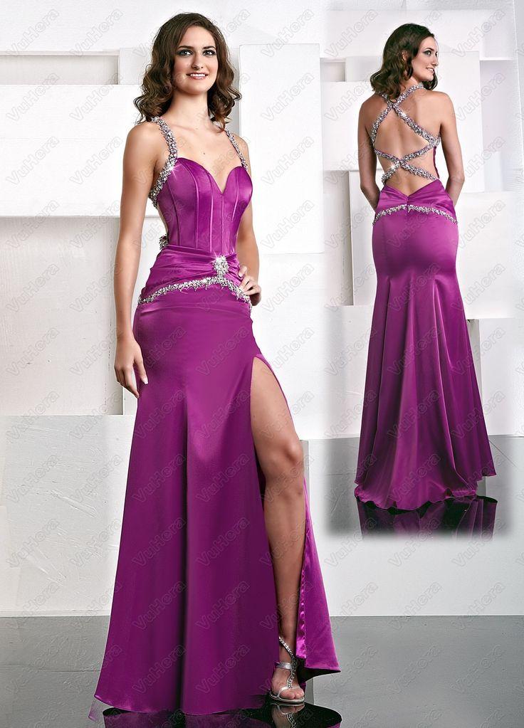 82 mejores imágenes de High Slit Dresses en Pinterest | Vestido de ...