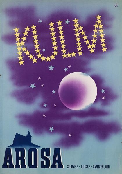 Kulm - Arosa - Schweiz - 1936 - (Charles Kuhn) -