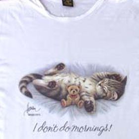 I Dont Do Mornings T-Shirt
