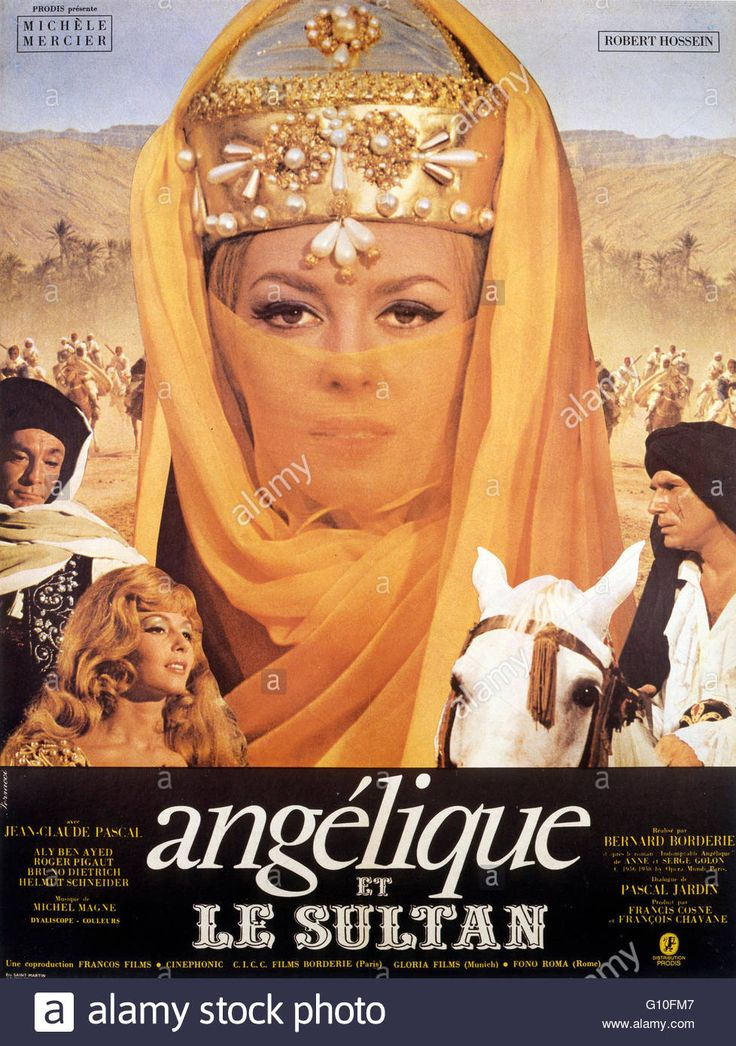 Download this stock image: ANGELIQUE ET LE SULTAN  1968  DIRECTED BY BERNARD BORDERIE Michèle Mercier Collection Christophel / RnB © Cinéphonic - G10FM7 from Alamy's library of millions of high resolution stock photos, illustrations and vectors.
