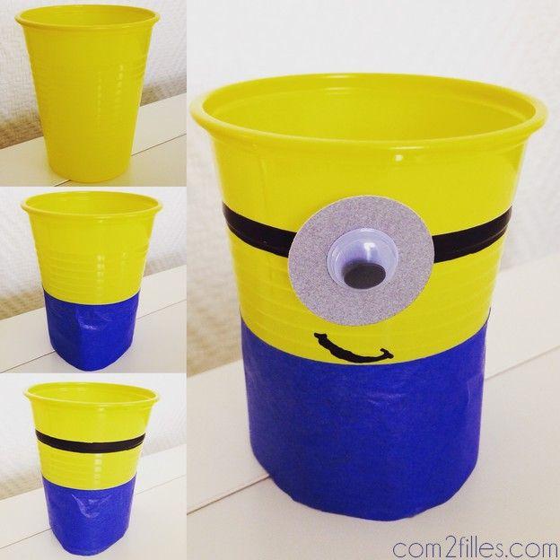 DIY minions - verres                                                                                                                                                                                 Plus