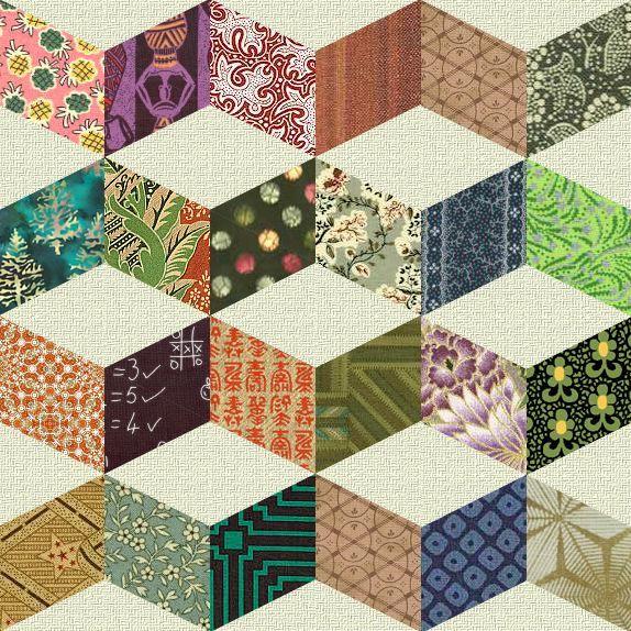 Best 25+ Geometric quilt ideas on Pinterest | Stripe quilt pattern ... : quilt patchwork patterns - Adamdwight.com