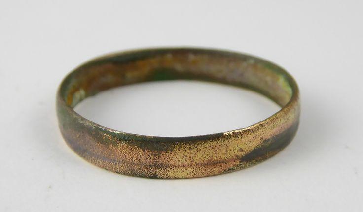 Ancient Roman Empire Antique Metal Ring Size U - The Collectors Bag