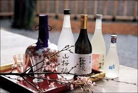 Sake selection. Try it in summery cocktails.