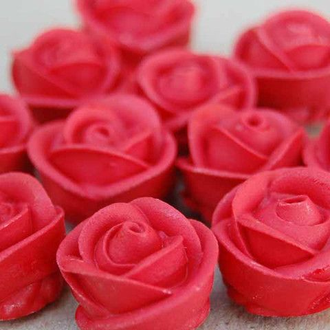 Red Icing Roses - Layer Cake Shop