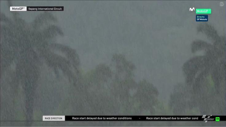 Malaysian GP Race - More Storm