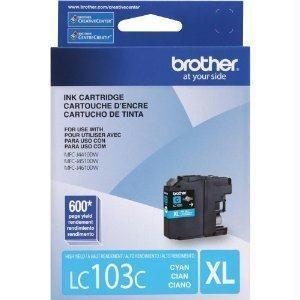 Brother International Corporat High Yield Cyan Ink Cartridge For Mfcj4410dw, Mfcj4510dw, Mfcj4610d  #border51