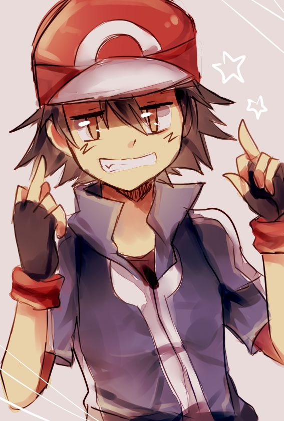 You see Ash pointing middle finger, yeah fu*k you ash