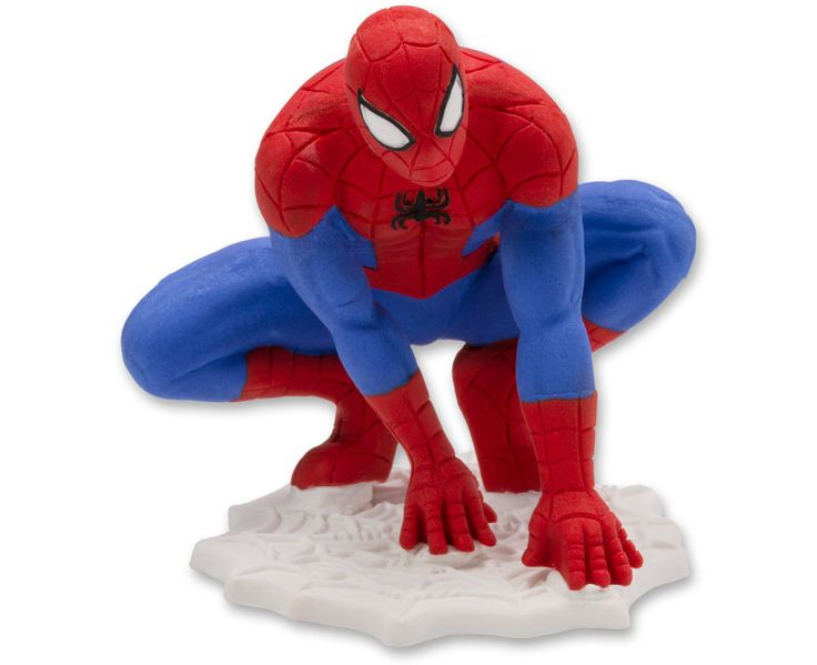 Spider-Man Gum Paste Figurine Cake Topper (sku: 18698)