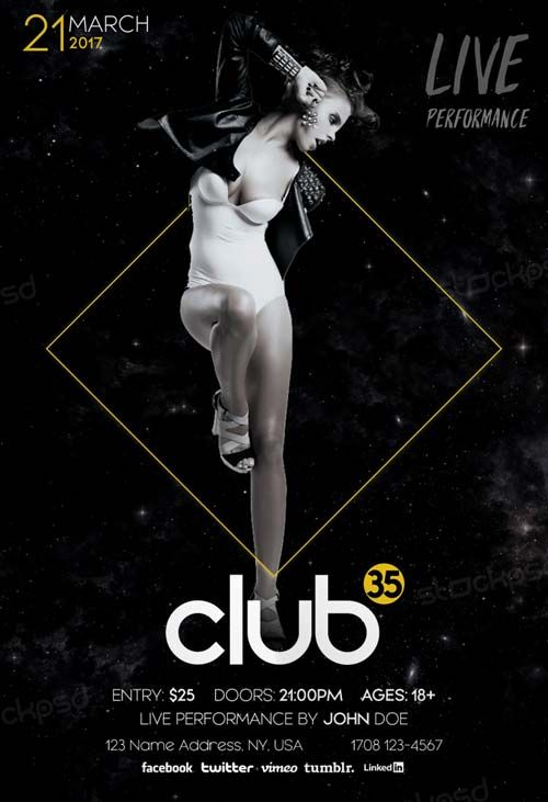 Dance Club Free PSD Flyer Template - http://freepsdflyer.com/dance-club-free-psd-flyer-template/ Enjoy downloading the Dance Club Free PSD Flyer Template created by Stockpsd!   #Acoustic, #Club, #Concertg, #Gig, #Indie, #Live, #Music, #Party, #Rock, #Sound, #Unpluged