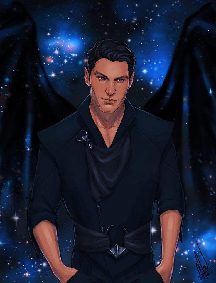 Rhysand, High Lord of the Night Court, that bastard who makes everything better. Definitely how I picture him.