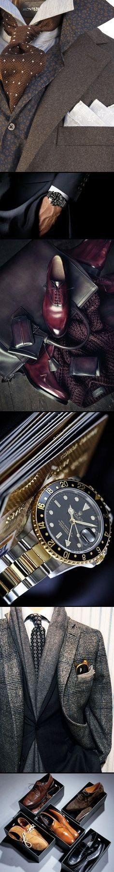 Men's Style - it's all in the detail. http://www.annabelchaffer.com/categories/Gentlemen/