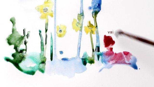 Sarune Zurba Photo. watercolour. autism.