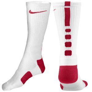Nike Elite Basketball Crew Sock - Men's - Basketball - Accessories - Black/White