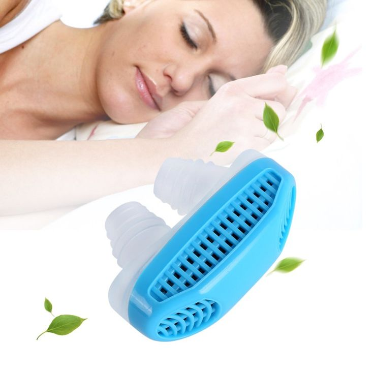 Portable Sleeping Aid Anti-Snoring Stop Nose Grinding Air Clean Filter Air Purifying Apparatus Health Care CL1