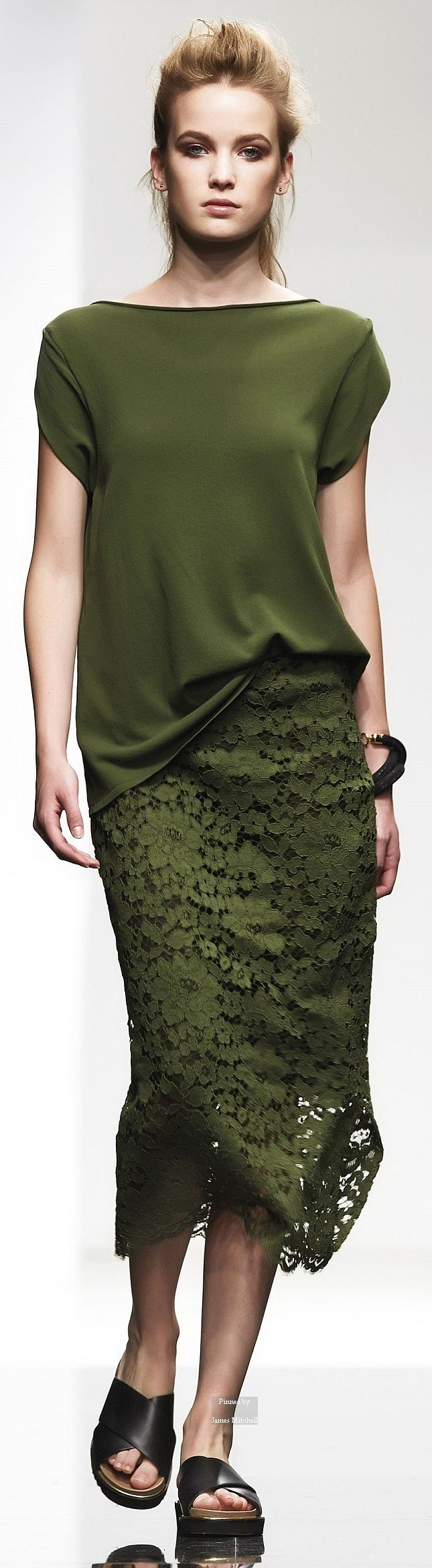 Liviana Conti Spring Summer 2015 Ready-To-Wear collection ❤ buyandwearstrategy.com ❤