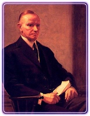 US President Calvin Coolidge